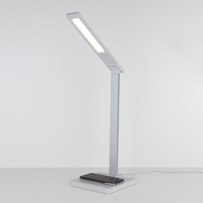 1TL90510 белый/серебряный Настольный светодиодный светильник Lori