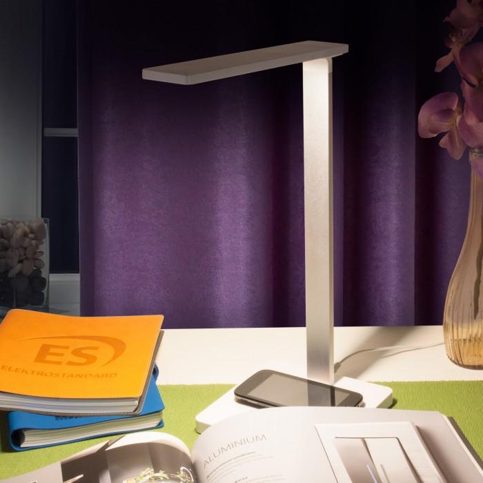 2TL90510 белый/серебряный Настольный светодиодный светильник Lori