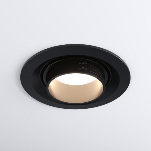 9919 LED 10W 4200K черный Встраиваемый светодиодный светильник с регулировкой угла освещения Электростандарт