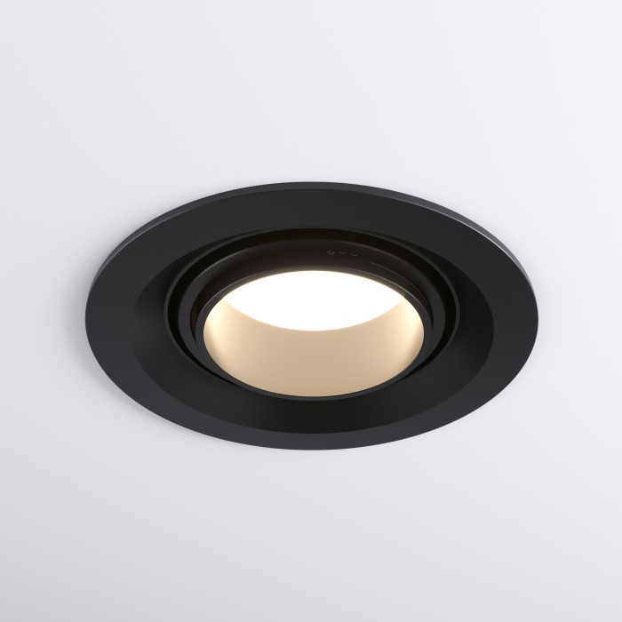 29919 LED 10W 4200K черный Встраиваемый светодиодный светильник с регулировкой угла освещения Elektrostandart