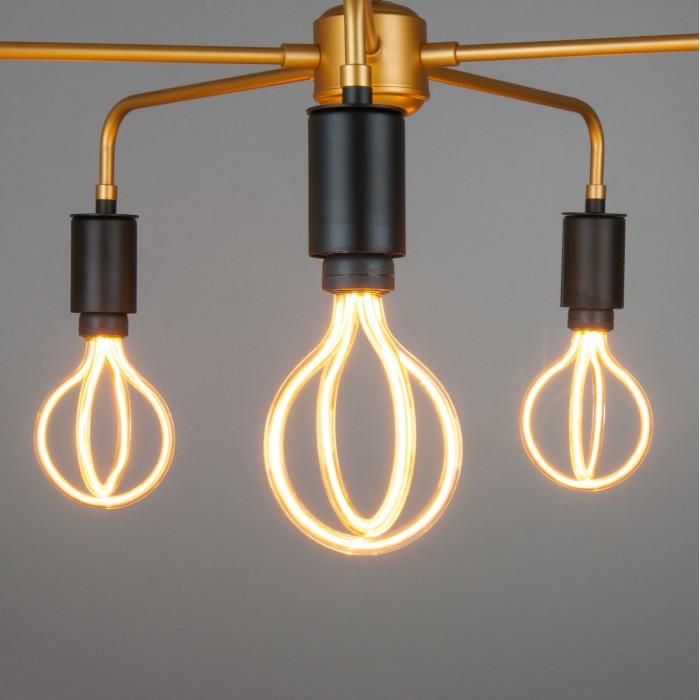 2 BL151 8W 2400K Светодиодная лампа Arti filament Elektrostandart