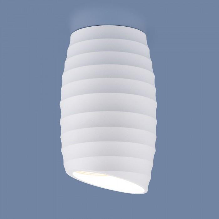 1DLN105 GU10 белый Накладной акцентный светильник