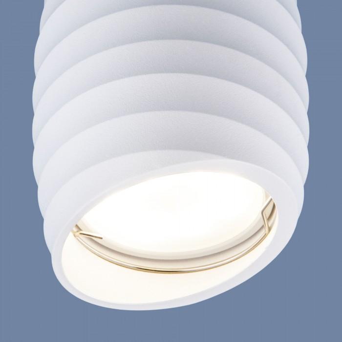 2DLN105 GU10 белый Накладной акцентный светильник