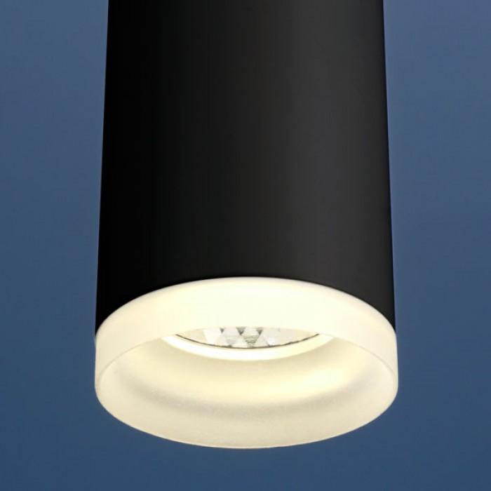 2Светильник DLR035 12W 4200K черный матовый