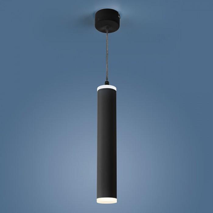 1Светильник DLR035 12W 4200K черный матовый