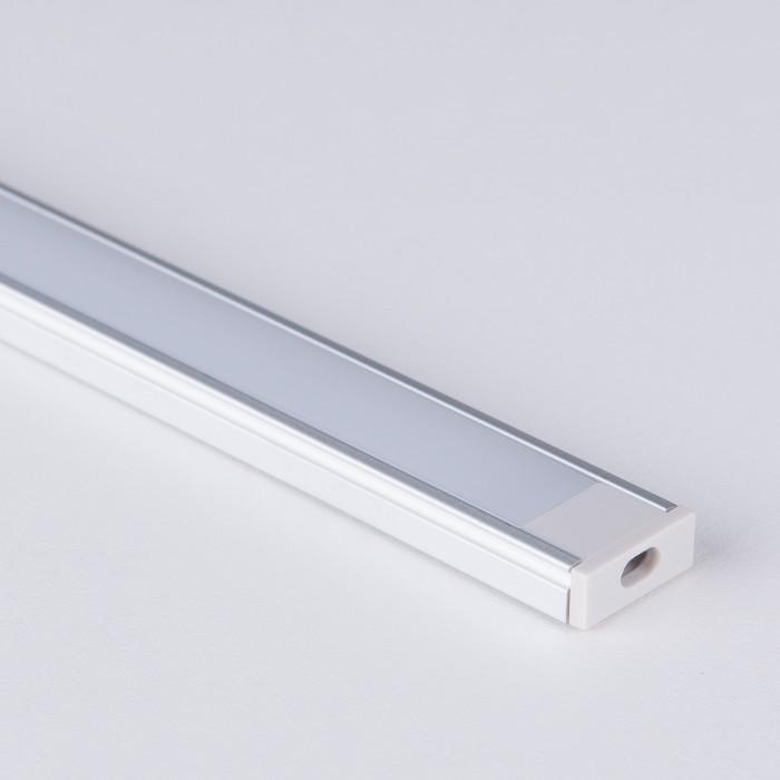 2LL-2-ALP006 Накладной алюминиевый профиль для светодиодной ленты Электростандарт 041811