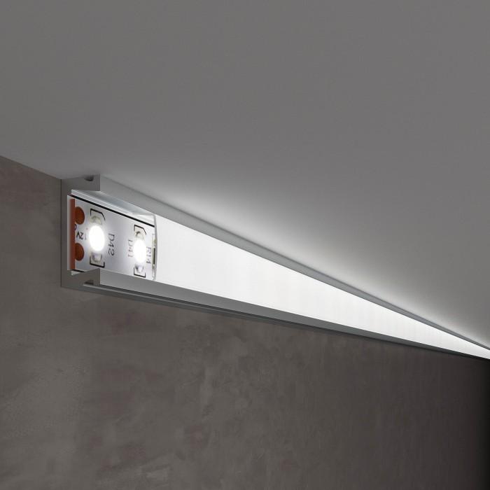 1LL-2-ALP006 Накладной алюминиевый профиль для светодиодной ленты Электростандарт 041811