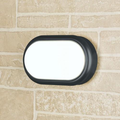 LTB05 Forssa черный пылевлагозащищенный светодиодный светильник Электростандарт