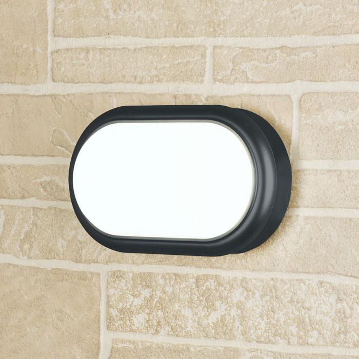 1LTB05 Forssa черный пылевлагозащищенный светодиодный светильник Электростандарт
