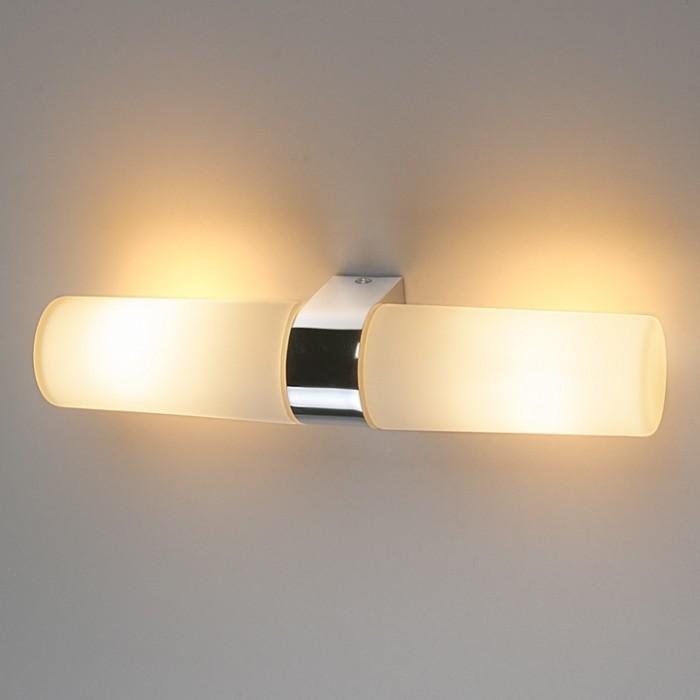 1Влагостойкий настенный светильник Round Электростандарт