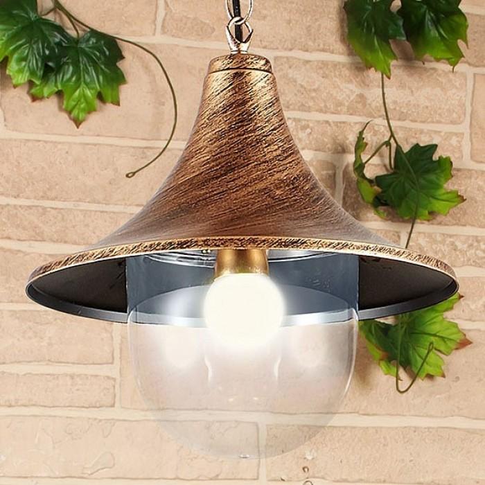 1Подвесной уличный светильник Saga H Электростандарт
