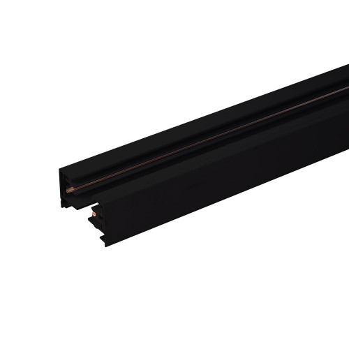 TRL-1-1-300-BK Однофазный шинопровод 3 метра черный (с вводом питания и заглушкой) Электростандарт