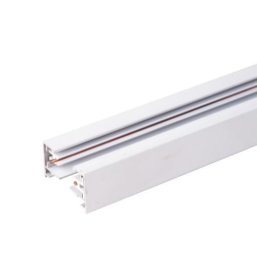 TRL-1-1-300-WH Однофазный шинопровод 3 метра белый (с вводом питания и заглушкой) Электростандарт