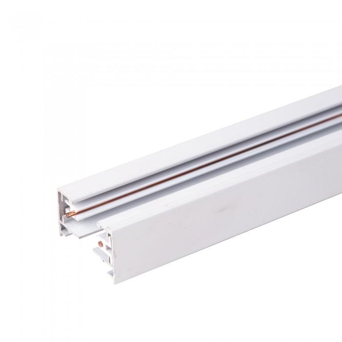 1TRL-1-1-300-WH Однофазный шинопровод 3 метра белый (с вводом питания и заглушкой) Электростандарт
