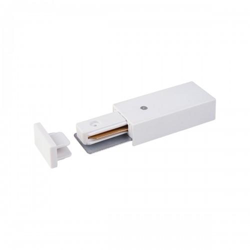 TRP-1-1-WH Ввод питания и заглушка торцевая для однофазного шинопровода белый Электростандарт