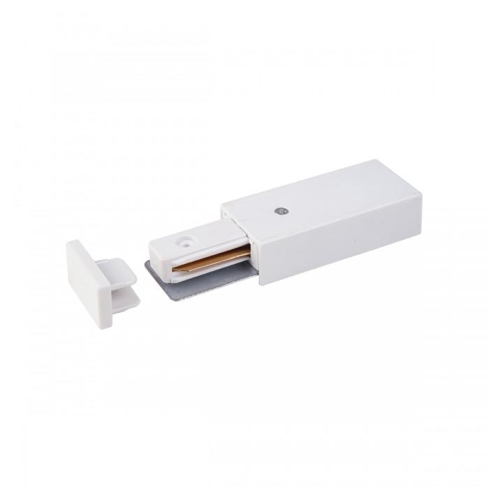 1TRP-1-1-WH Ввод питания и заглушка торцевая для однофазного шинопровода Электростандарт белого цвета