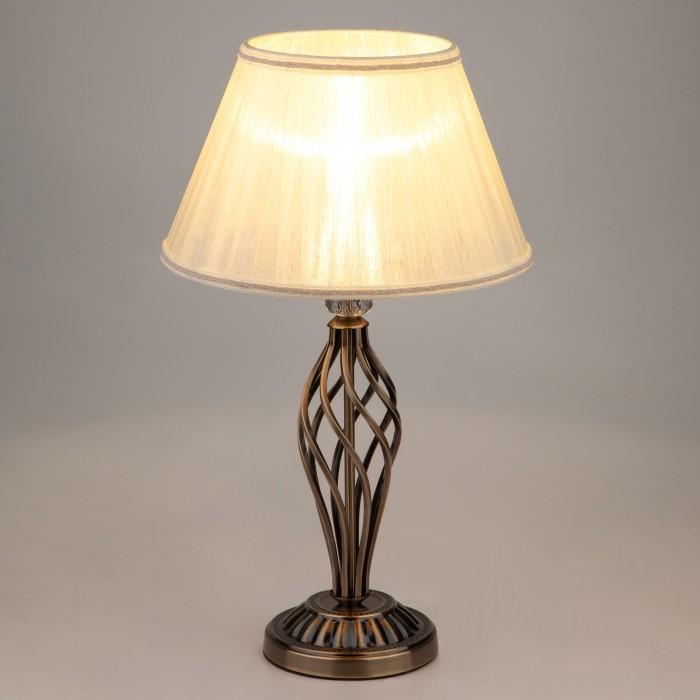 2Настольная лампа Eurosvet 01002/1 античная бронза