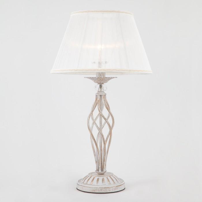 1Настольная лампа Eurosvet 01002/1 белый с золотом