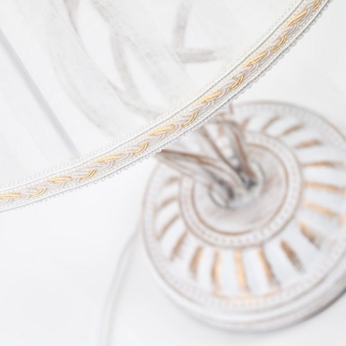 2Настольная лампа Eurosvet 01002/1 белый с золотом