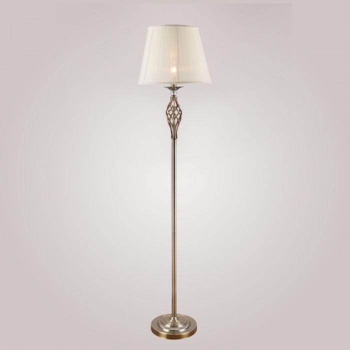 1Торшер с абажуром Eurosvet 01003/1 бронзового цвета