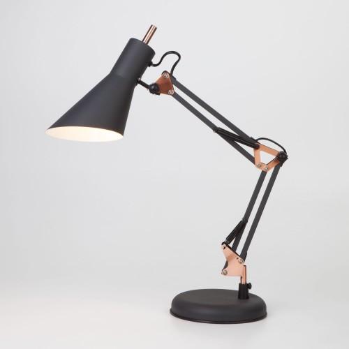 01032/1 черный EUROSVET Настольная лампа школьная