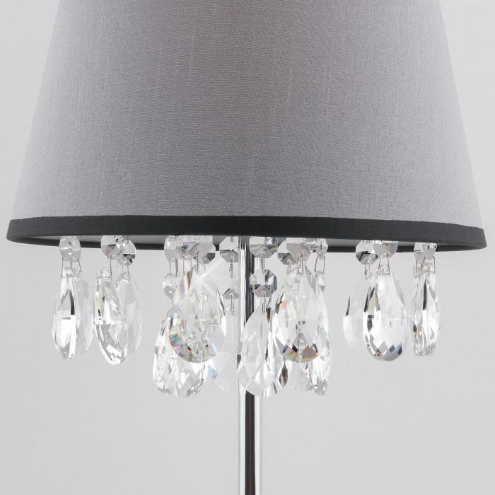 2Настольная лампа с хрусталем Eurosvet 01036/1