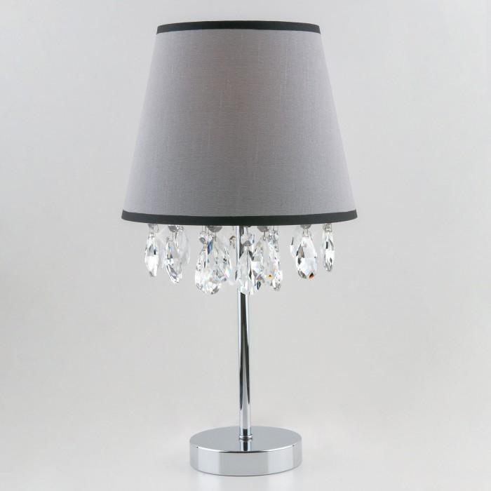 1Настольная лампа с хрусталем Eurosvet 01036/1