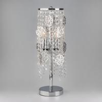 01035/2 EUROSVET Настольная лампа с хрусталем