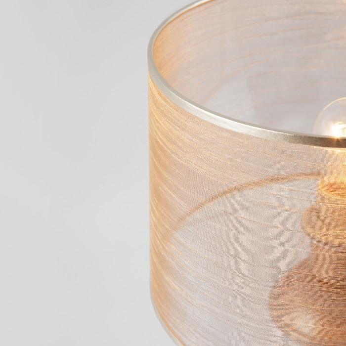 2Настольная лампа Eurosvet 01073/1 перламутровое золото