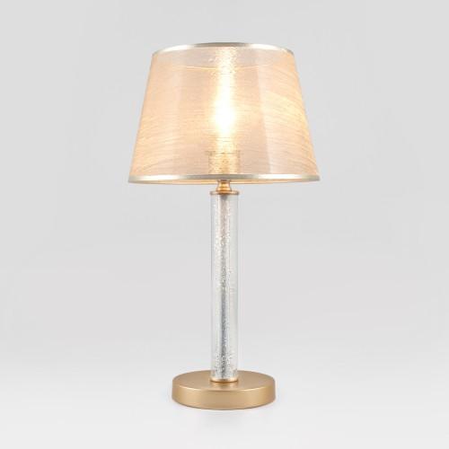 01075/1 EUROSVET Настольная лампа с абажуром