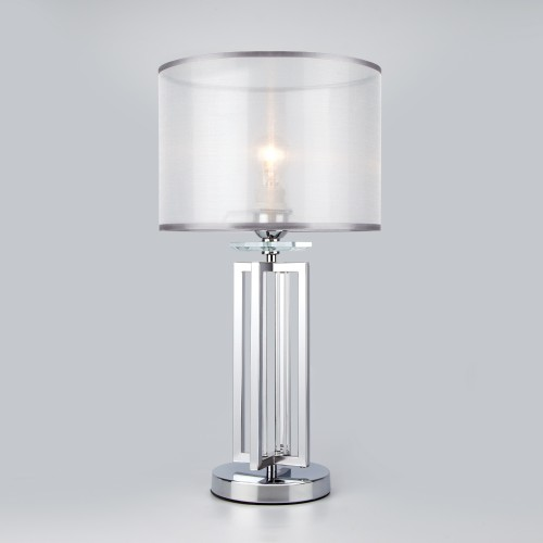 01078/1 EUROSVET Настольная лампа с абажуром