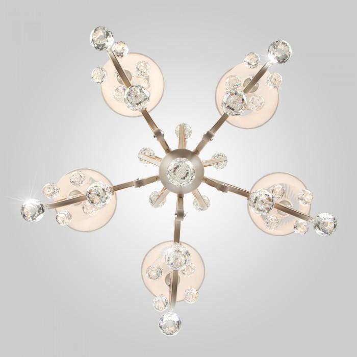 2Классическая люстра 12075/5 Eurosvet на 8 ламп