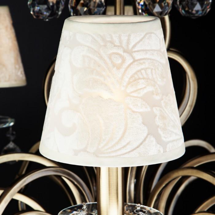 2Классическая люстра с хрусталем 1448/8 античная бронза Eurosvet