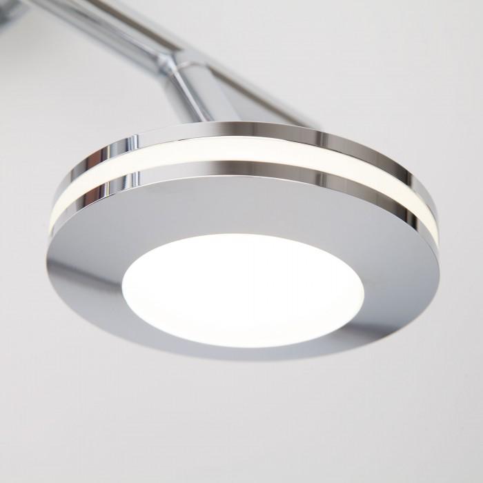 2Светодиодный настенный светильник с поворотными плафонами 20002/2 хром Eurosvet