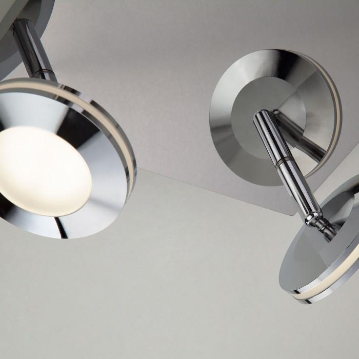 2Светодиодный потолочный светильник с поворотными плафонами 20002/4 хром Eurosvet