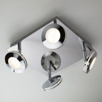 20002/4 Светодиодный потолочный светильник с поворотными плафонами ЕВРОСВЕТ