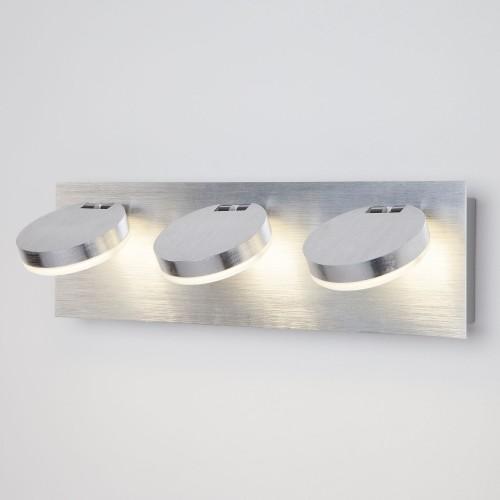 20004/3 Светодиодный настенный светильник с поворотными плафонами ЕВРОСВЕТ