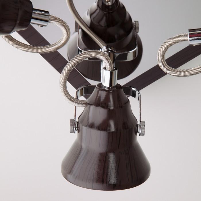 2Потолочный светильник с поворотными плафонами 20062/4 хром/венге Eurosvet