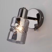 20120/1 черный жемчуг Светильник настенный с выключателем ЕВРОСВЕТ