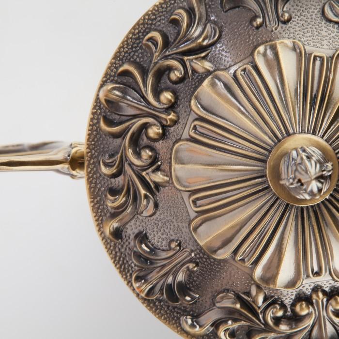 2Классическая люстра 22010/5 Eurosvet античная бронза