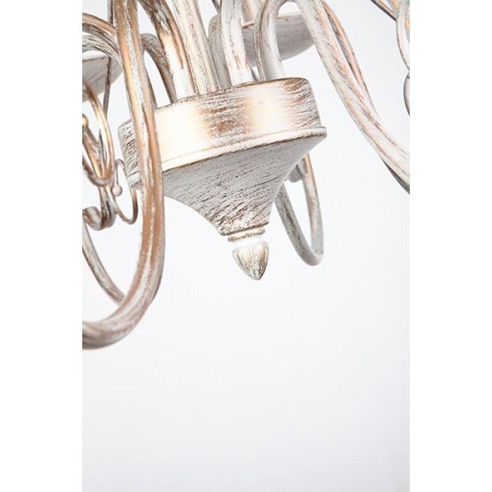 2Классическая люстра 22404/8 белый с золотом Eurosvet