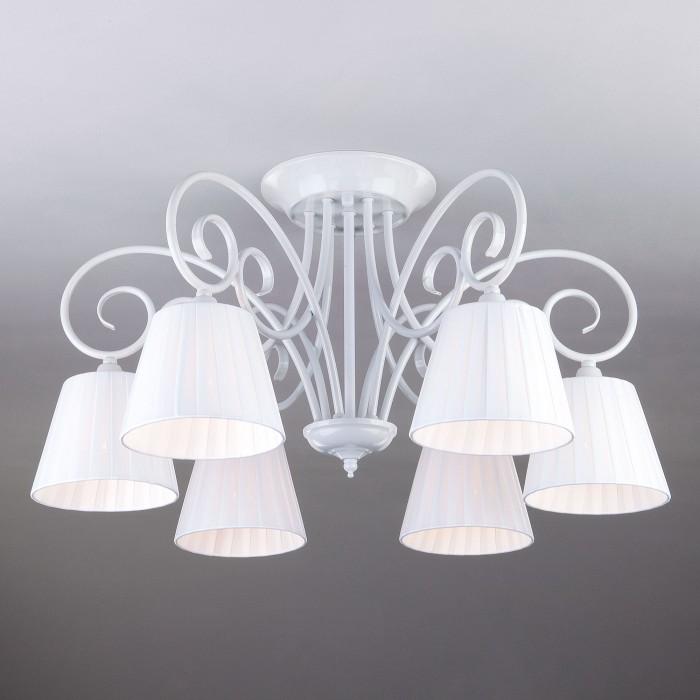 1Классическая потолочная люстра 303/6 Bogates на 6 ламп