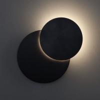 40135/1 черный Настенный светодиодный светильник ЕВРОСВЕТ