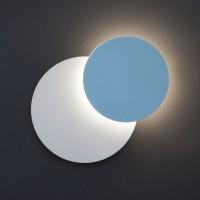 40135/1 голубой Настенный светодиодный светильник ЕВРОСВЕТ