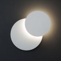 40135/1 белый Настенный светодиодный светильник ЕВРОСВЕТ