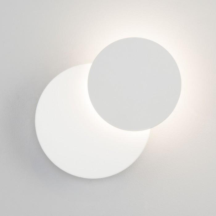2Настенный светодиодный светильник 40135/1 белый Евросвет