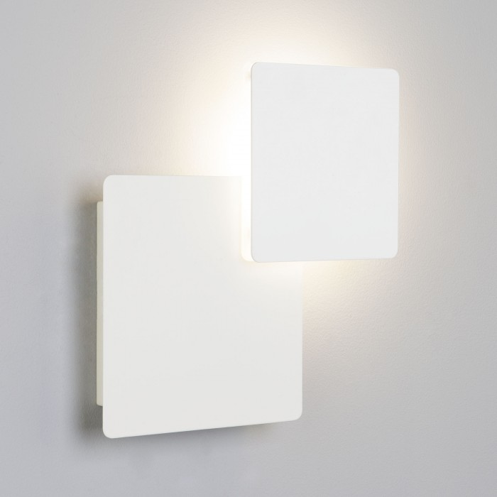 1Настенный светодиодный светильник 40136/1 белый Евросвет