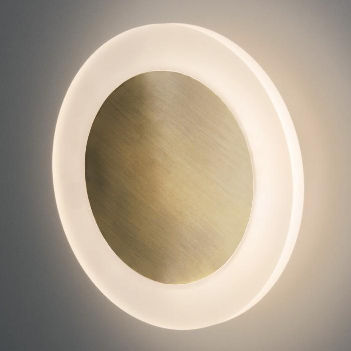 2Настенный светодиодный светильник 40140/1 бронза Евросвет