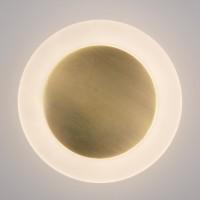 40140/1 бронза Настенный светодиодный светильник ЕВРОСВЕТ