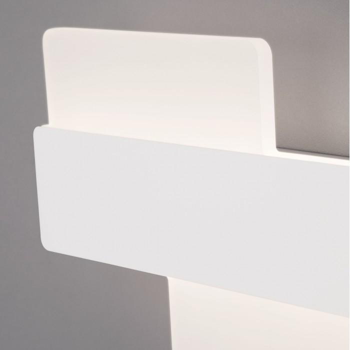 2Настенный светодиодный светильник 40142/1 белый Евросвет